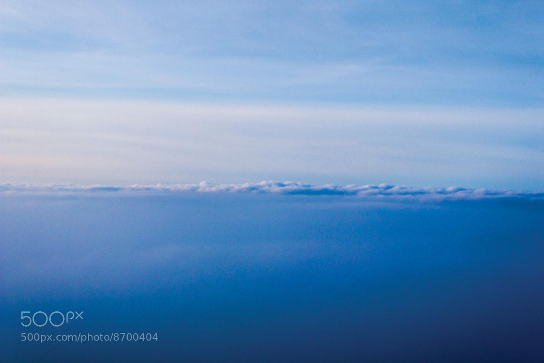 Photograph Blue horizon by Aurélien D'Silva on 500px