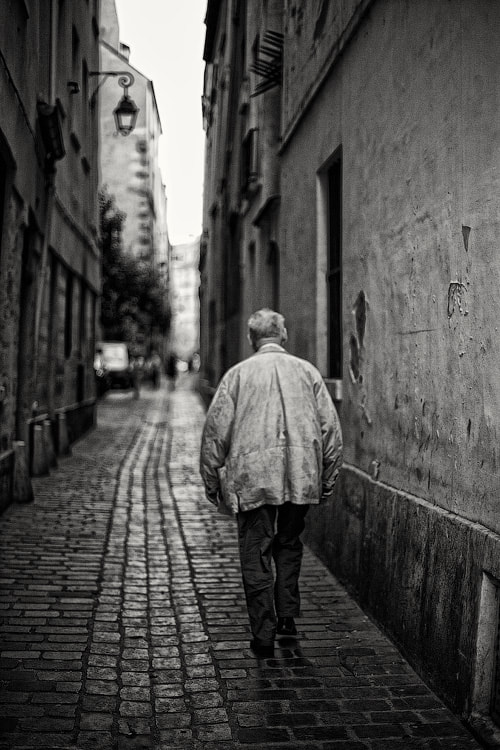 Photograph Alone in the city by Dmitry Shamin on 500px