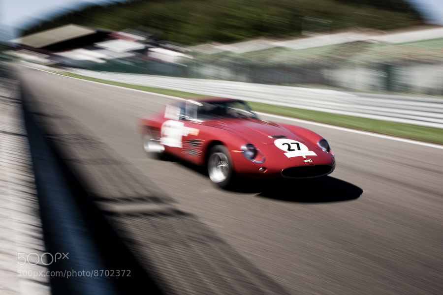 Photograph Ferrari 250 GT Drogo (1961) by Jurrie  Vanhalle on 500px
