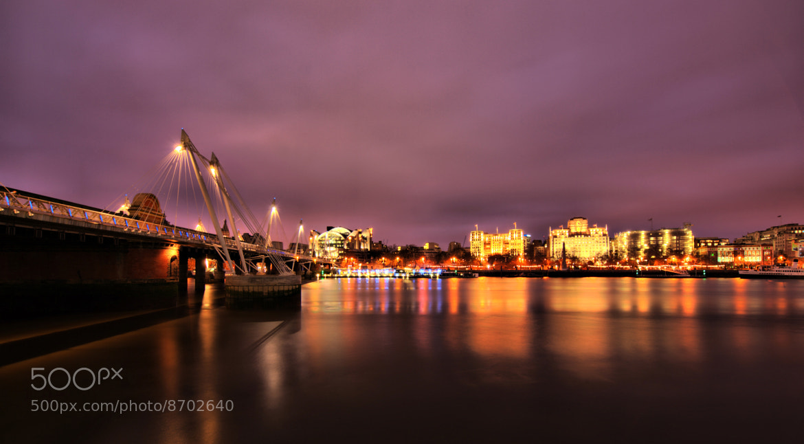 Photograph Thames by Night by Rick Wezenaar on 500px