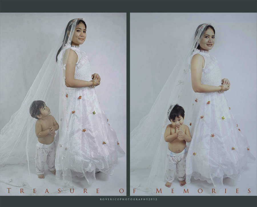 Photograph Bride & Child by Rove Rico on 500px