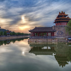Постер, плакат: Sunrise over the Forbidden City