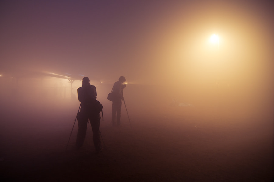 Photograph Light in a mist by Renat Dunyashov on 500px