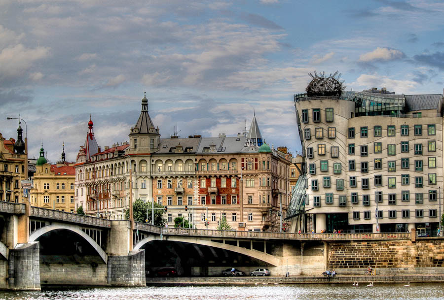 Photograph The dancing house Prague by luyckx miranda on 500px