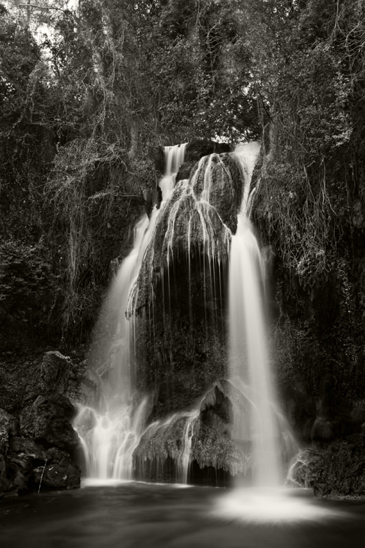Photograph Waterfall - Deir Dourit by F N on 500px