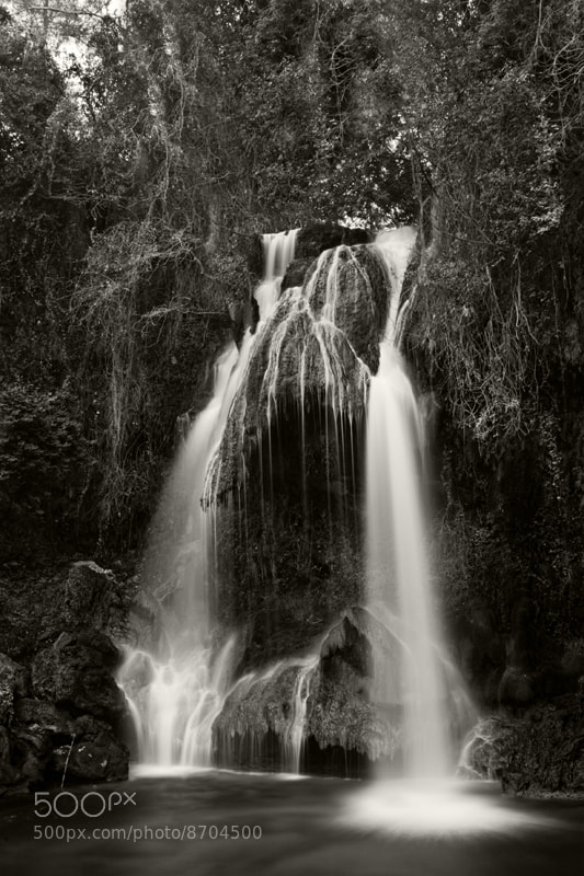 Photograph Waterfall - Deir Dourit by F N on 500px