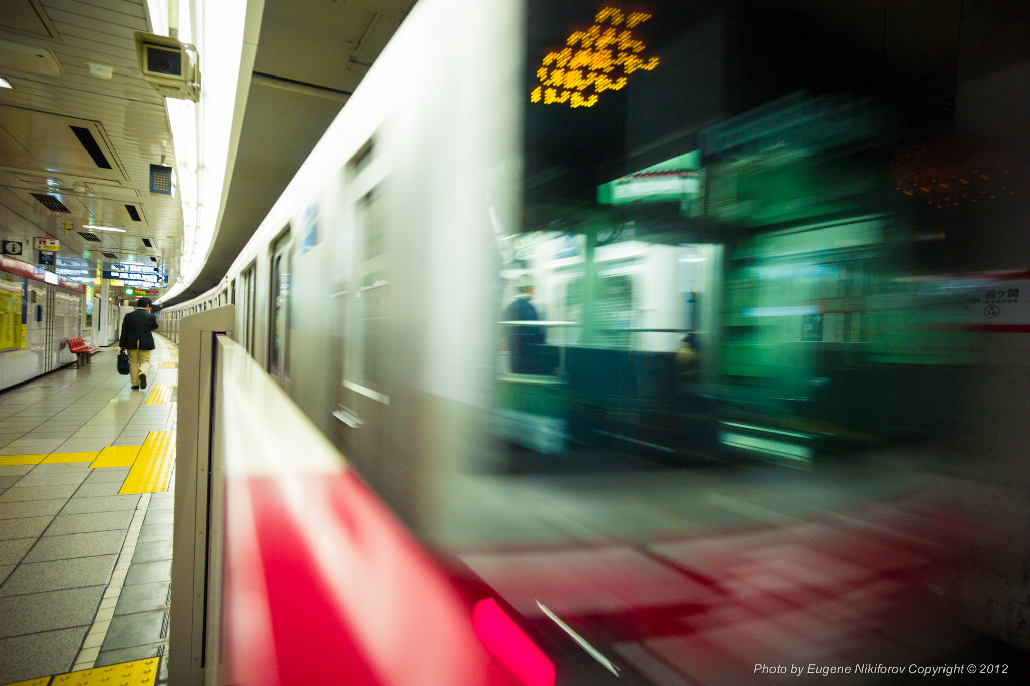 Photograph Metro, Tokyo by Eugene Nikiforov on 500px