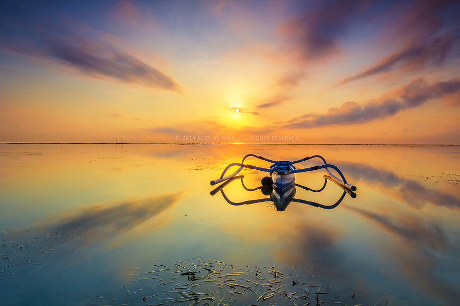 Spider Boat in Sky Net by Budi Astawa on 500px.com