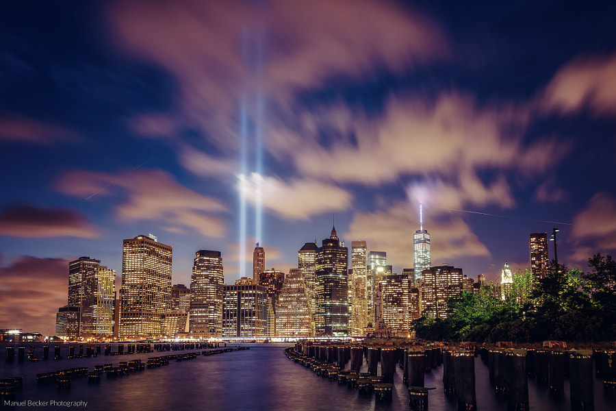 Photograph Tribute in Light, New York 2014 by Manuel Becker on 500px