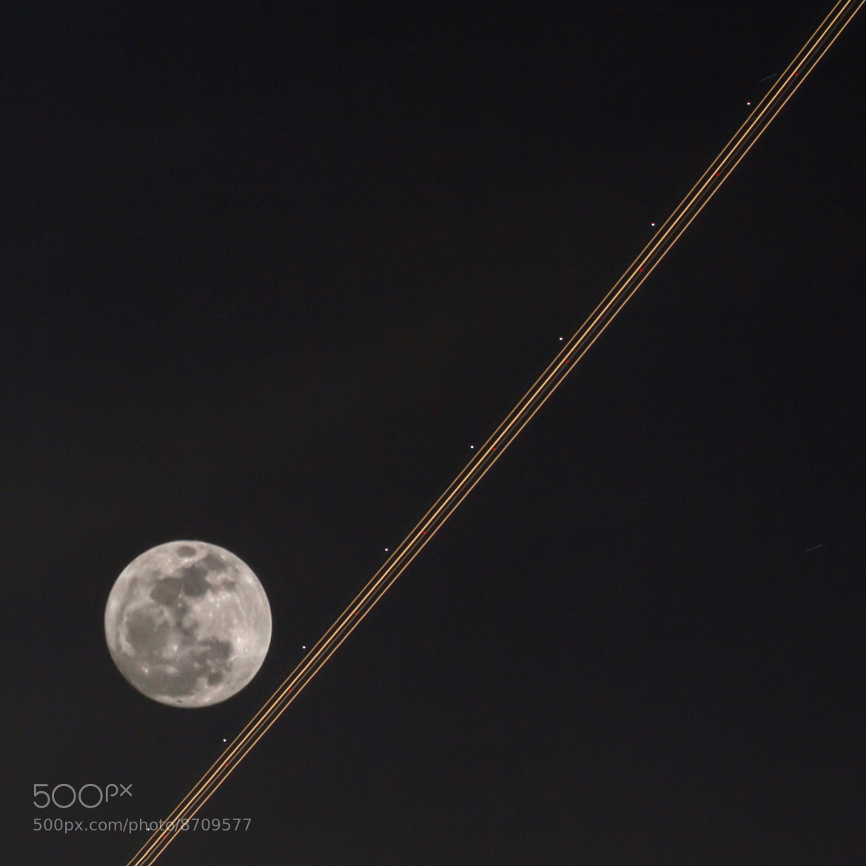 Photograph Lunar Streak by Matt Knisely on 500px