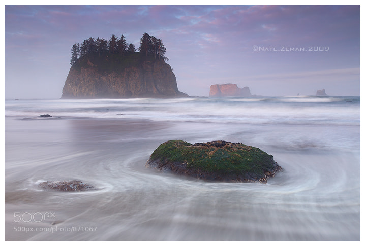 Photograph Second Beach Sunrise by Nate Zeman | natezeman.com on 500px