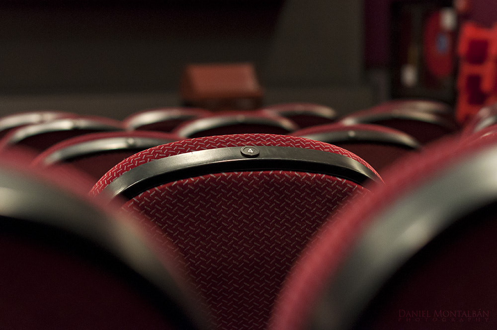 Photograph Waiting for a film by Daniel Montalbán on 500px
