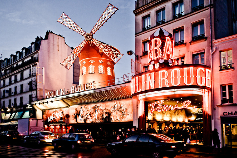 Photograph Moulin Rouge by Gabriel Lima on 500px