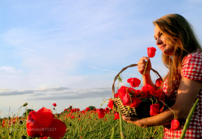 Photograph poppy girl I by KingMcBenz . on 500px