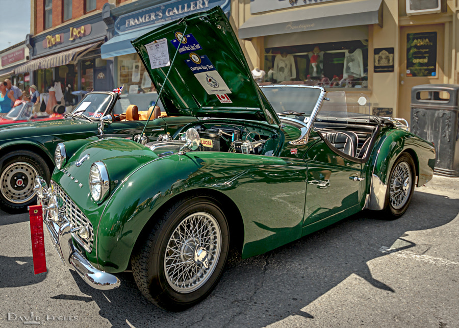 1959 Triumph TR3a Brits On The Lake
