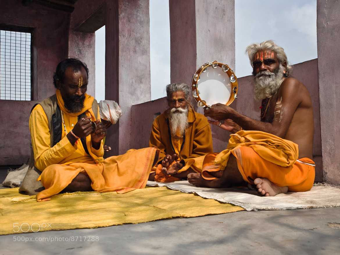 Photograph Sadhus by Gennadii Kondratiev on 500px