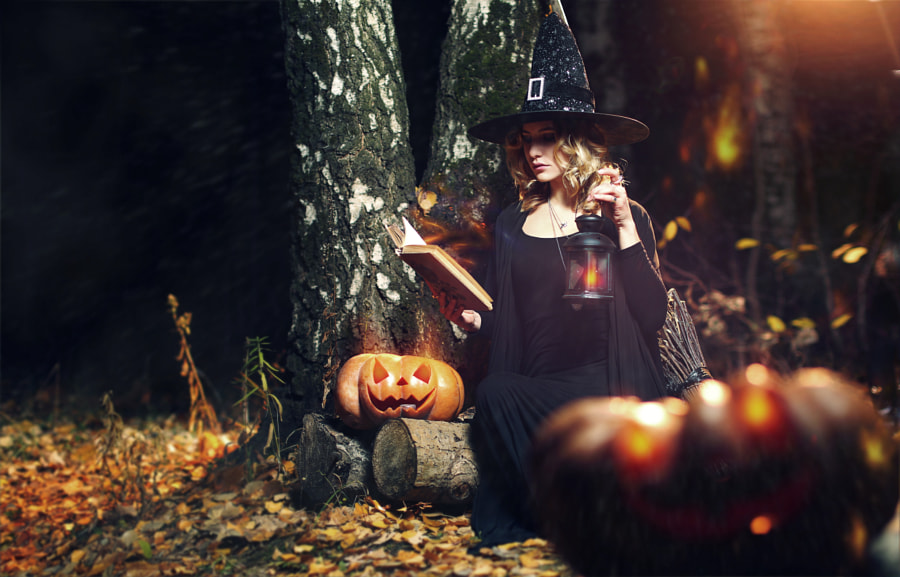 Photograph The evil spirit halloween witch by Hakan  Erenler on 500px