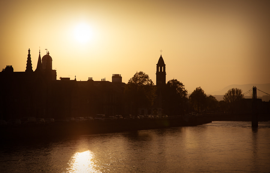 Photograph Sunset, Inverness, Scotland. by Stanton Champion on 500px