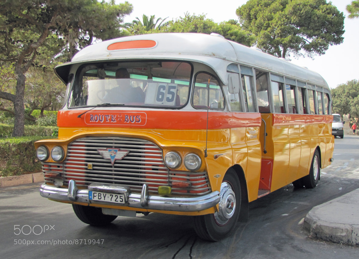 Photograph Old Bus as used - Malta by Trevor Morecraft on 500px