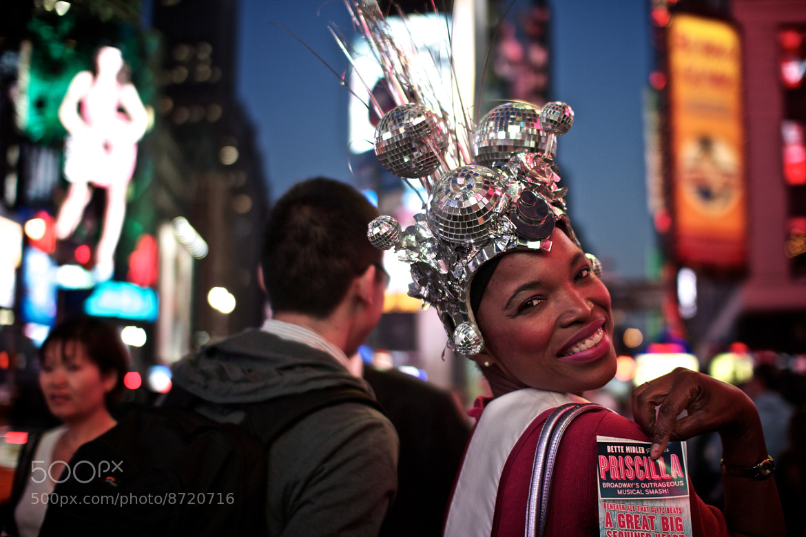 Photograph Priscilla, Queen of Times Square by Joanne Marla on 500px