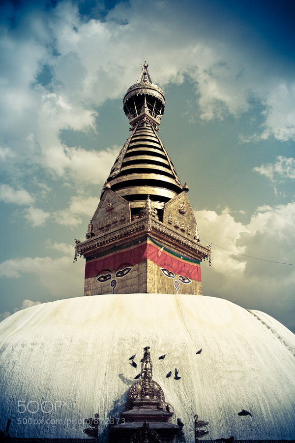 Swayambhunath Stupa by Manish Shakya (MrShakya)) on 500px.com