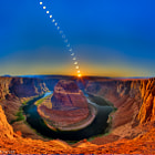 Постер, плакат: Ring of Fire Horseshoe Bend