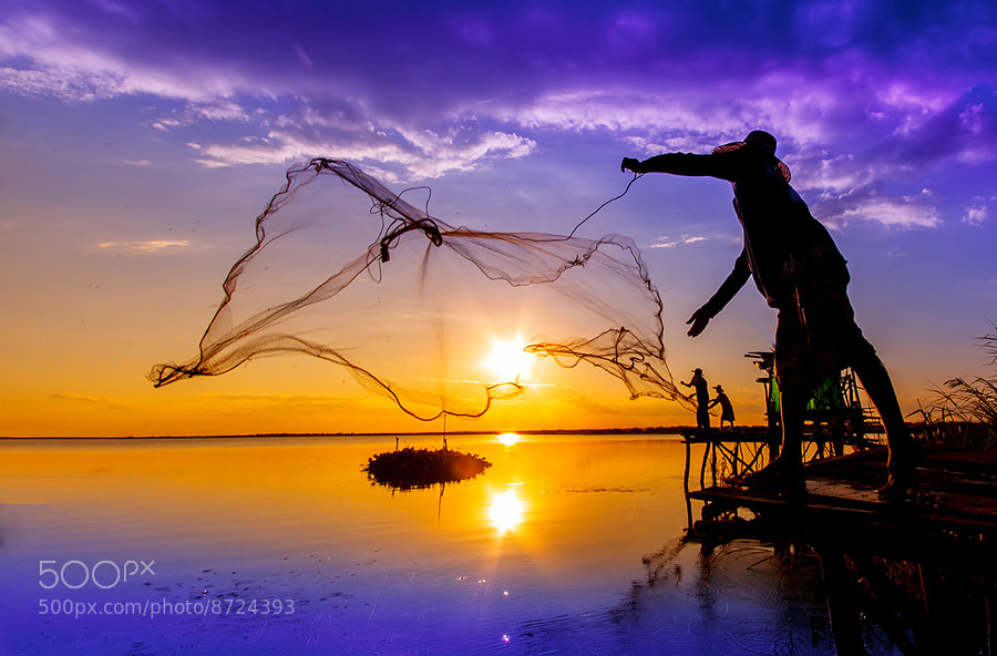 Photograph Fisherman of Thailand by nantaphon Chaiyaphum on 500px