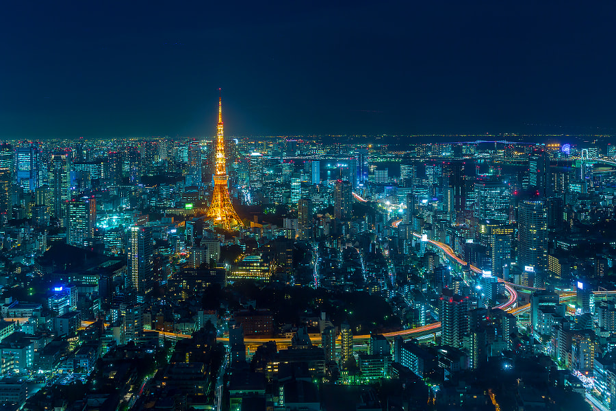 Photograph Tokyo City by Salah Althubaiti on 500px