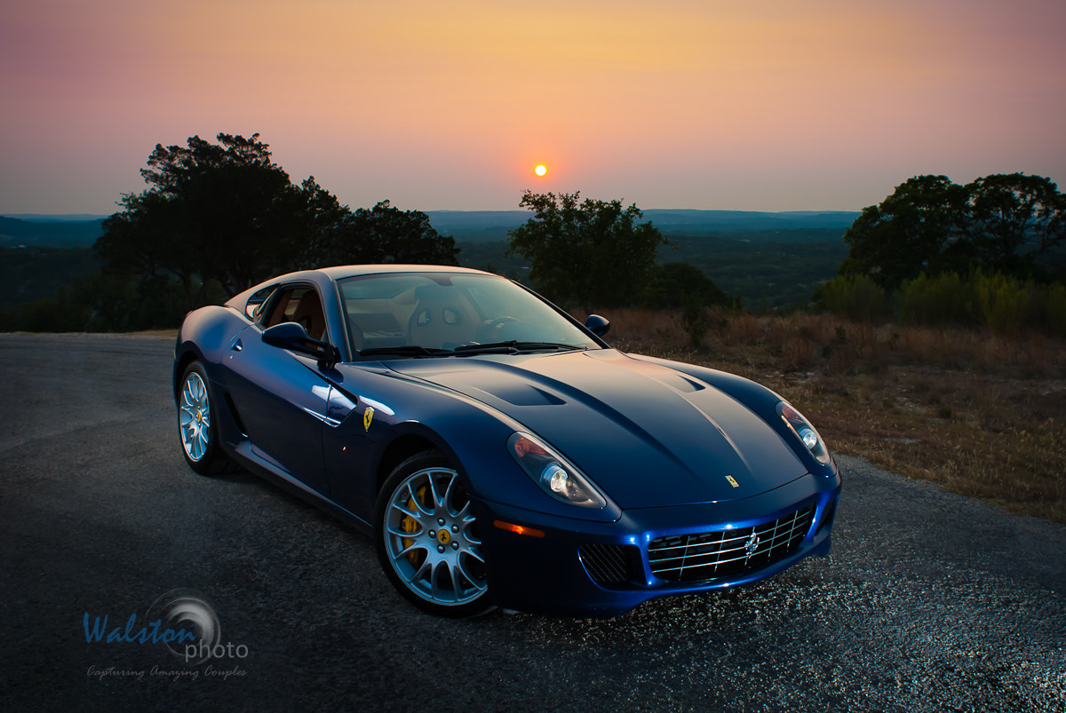 Photograph Ferrari at Sunset by Royce Walston on 500px