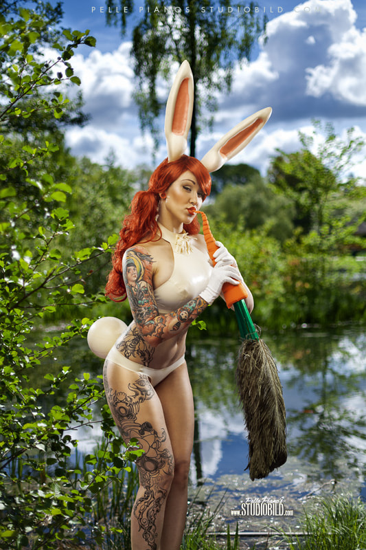 Photograph Latex Bunny by Pelle Piano on 500px