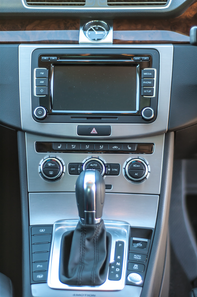 Photograph VW CC Centre Console by Shawn Jooste on 500px