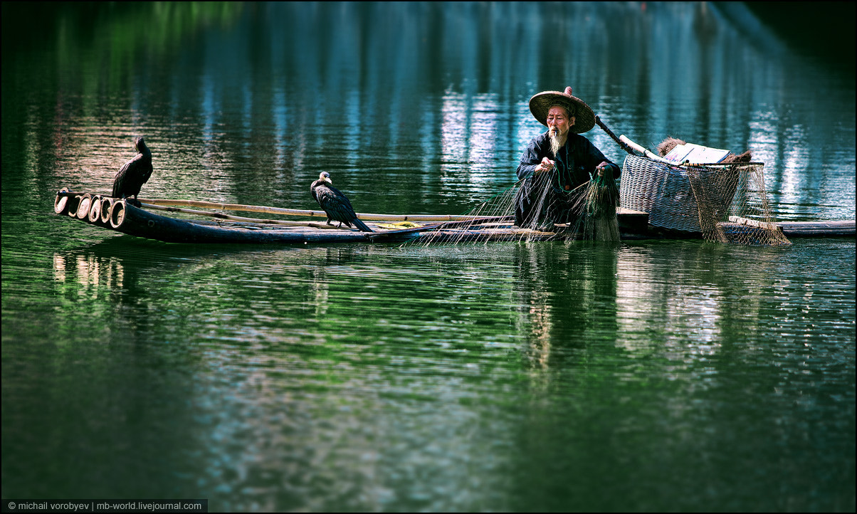 Photograph Chinese fisherman by Michail Vorobyev on 500px