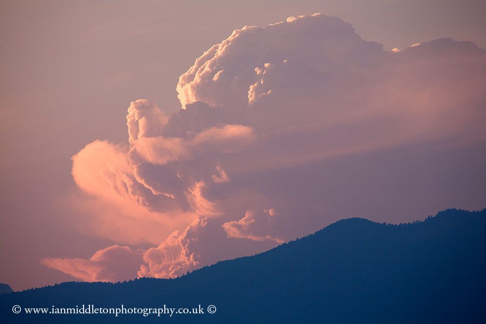 Photograph A face in the clouds? by Ian Middleton on 500px