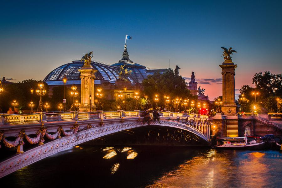 Alexander III bridge Paris