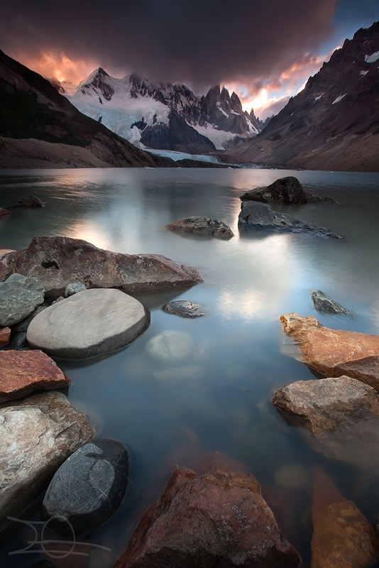 Photograph Last light on the Cerro Torre by Emmanuelle Gerber on 500px