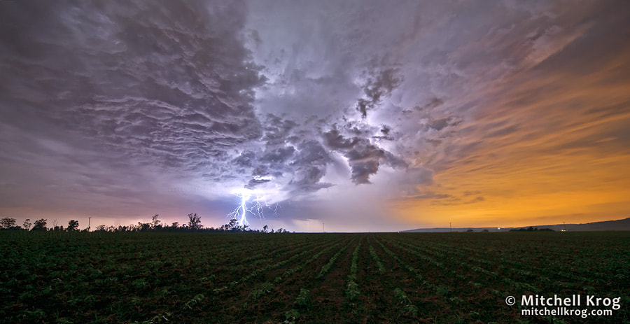 Photograph The Light of Day | Lightning Landscape Photography by Mitchell Krog on 500px