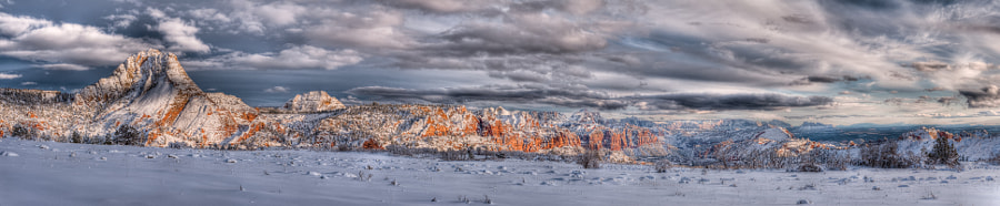 Kolob Winter Wonderland by Argo Shots on 500px.com