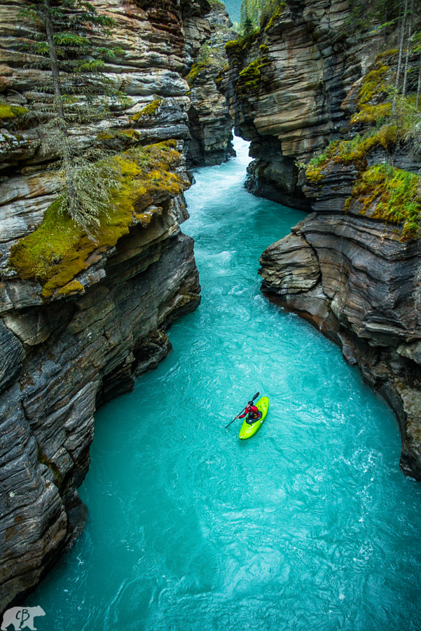 Photograph Athabasca Falls Canyon by Chris  Burkard on 500px