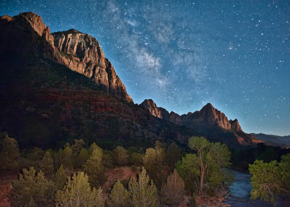 Photograph Zion - Milky Way Rising by Argo Shots on 500px