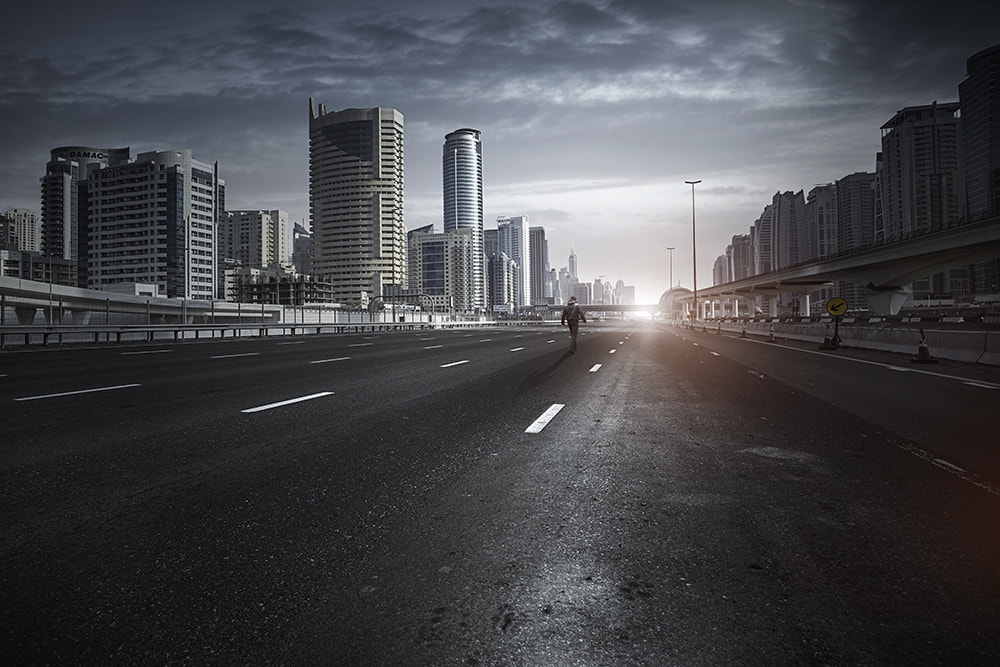 Photograph Alone Dubai by Alisdair Miller on 500px