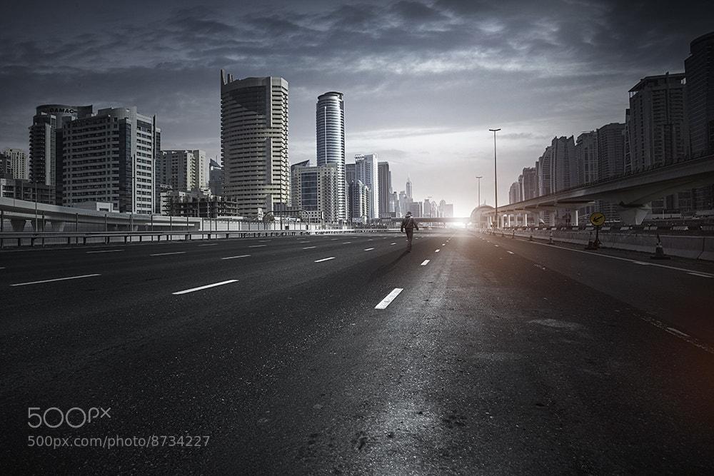Photograph Alone Dubai by Alisdair Miller on 500px