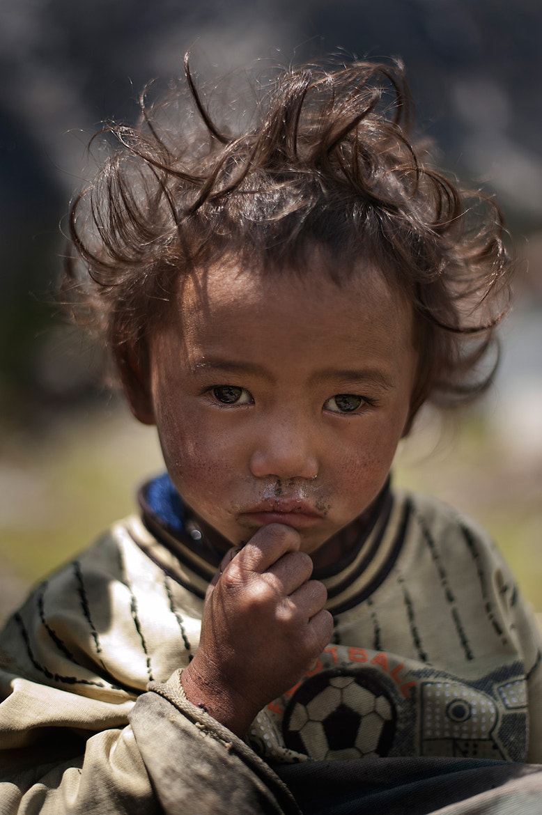 Photograph A boy from Lachung by Tonnaja Anan Charoenkal on 500px