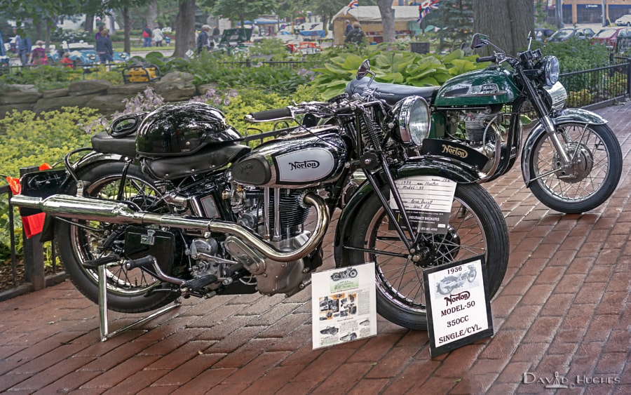1936 Norton at 2014 Brits In The Park