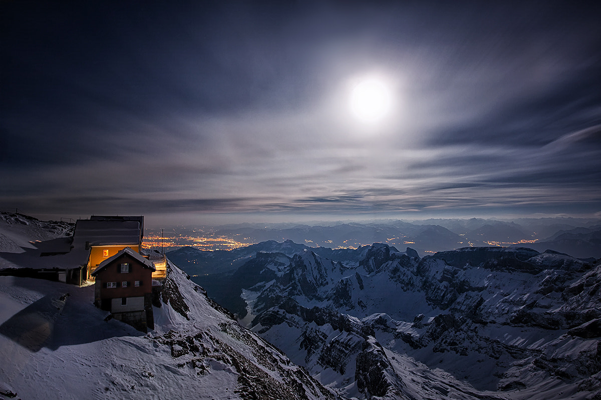 Photograph Mountain station by Kai Böhm on 500px