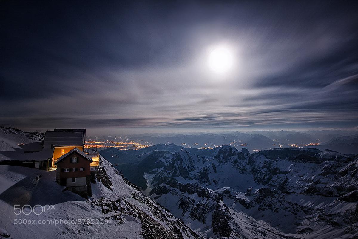Photograph Mountain station by Kai Böhm on 500px
