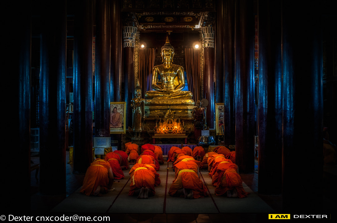 Photograph pay respect to the Buddha by Dexter Ae on 500px
