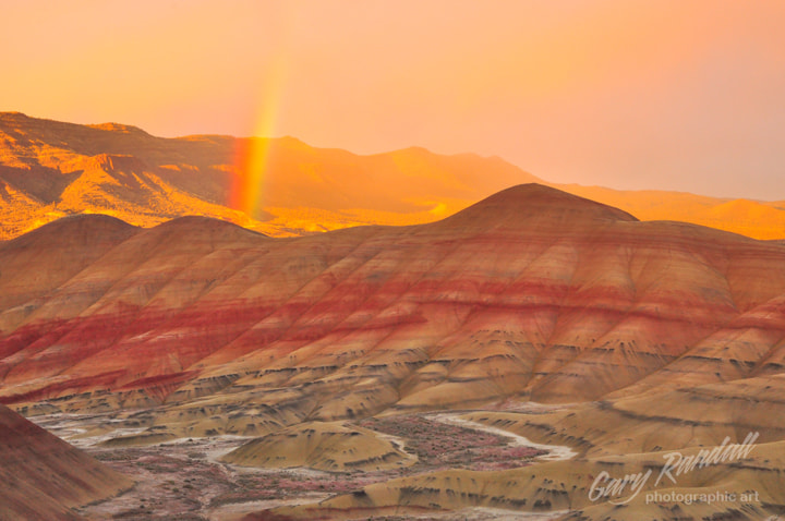 Photograph Light Show at The Painted Hills by Gary Randall on 500px