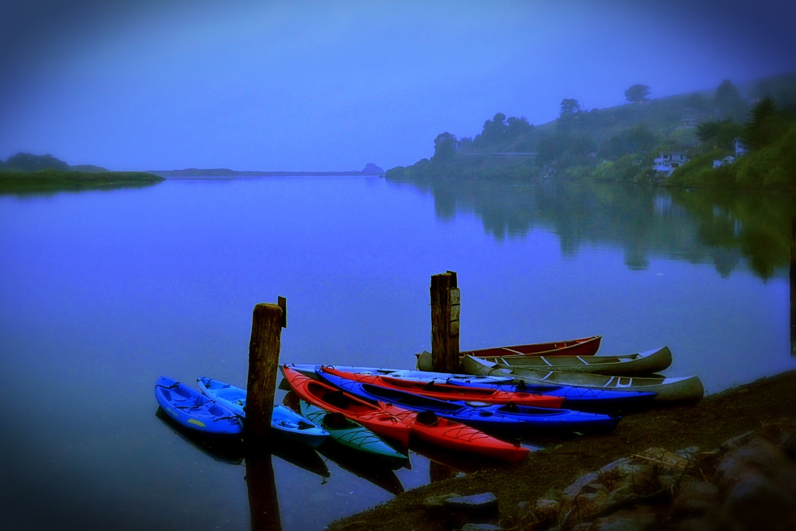 Photograph Kayaks by Candice Staver Harris  on 500px