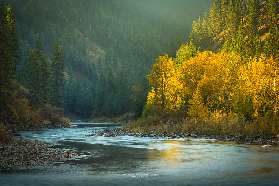 Photograph Payette Morning by Scotty Perkins on 500px