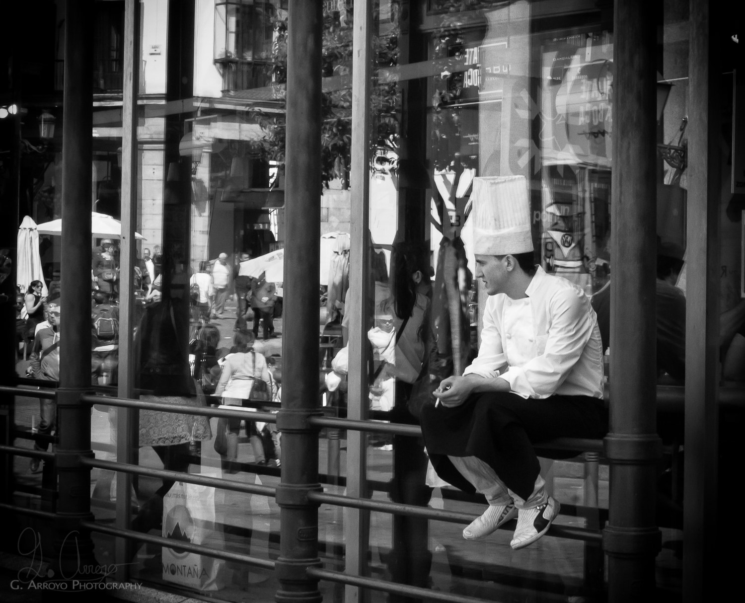 Photograph Smoke break for Chef by Giovanni Arroyo on 500px